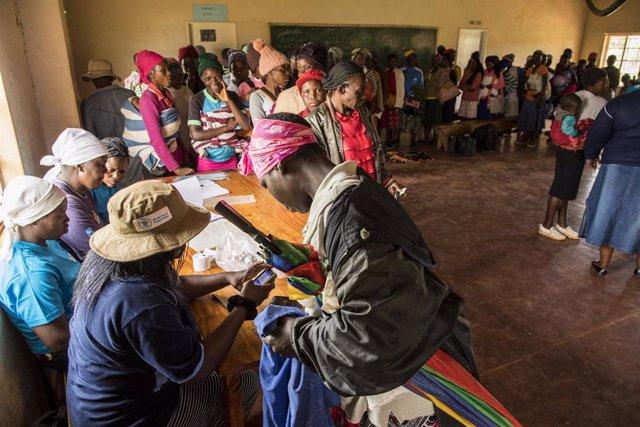 Proyecto del Programa Mundial de Alimentos en Zimbabue