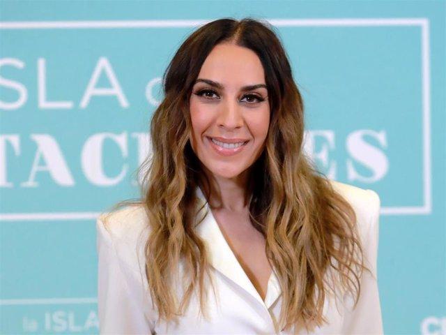 Mónica Naranjo en la presentación de 'La isla de las tentaciones'
