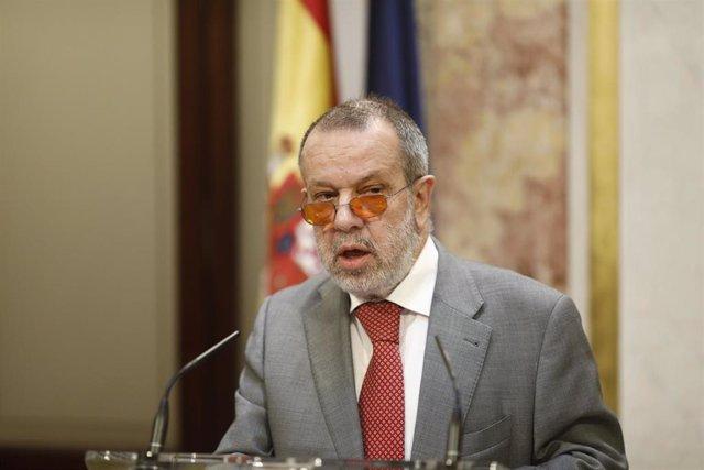 El Defensor del Pueblo Francisco Fernández Marugán