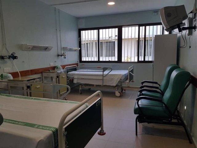 Una habitación del Hospital de Don Benito-Villanueva