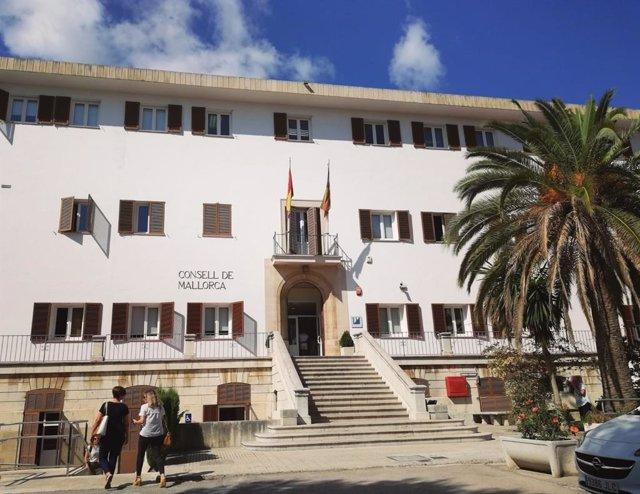 El edificio de las oficinas del IMAS.
