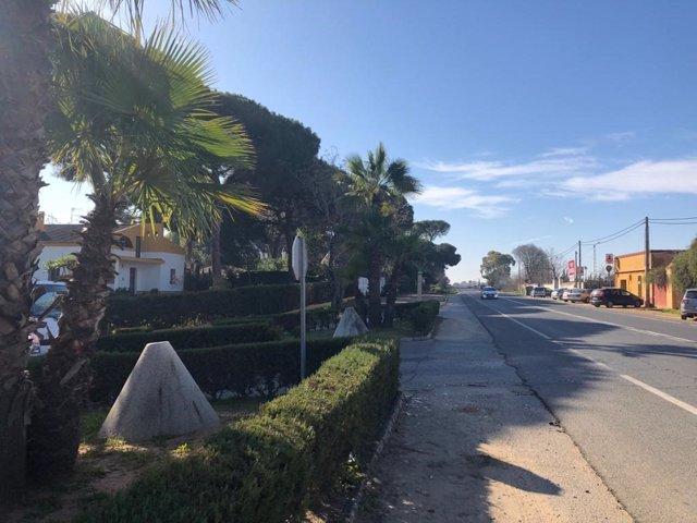 Iniciado el proyecto de mejora de los accesos a Pinares-Pirotecnia de Alcalá de Guadaíra desde la SE-3204