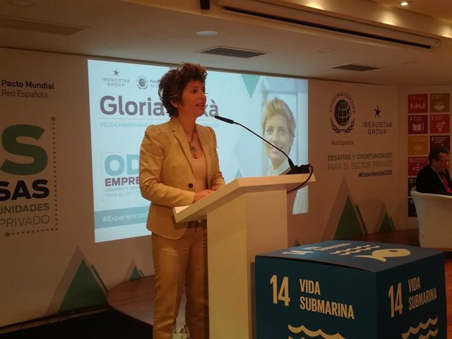 La vicepresidenta de Grupo Iberostar, Gloria Flux