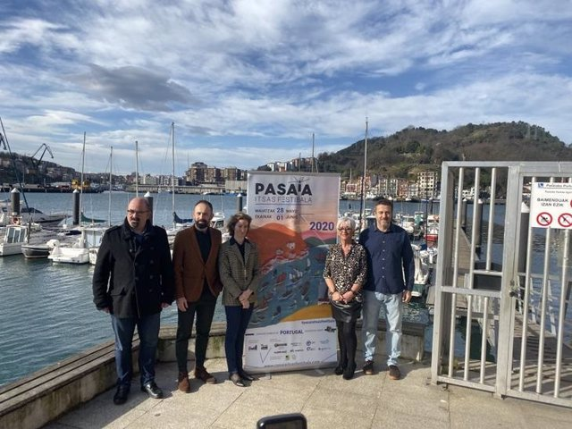 Presentación de la segunda edición del Festival Marítimo de Pasaia