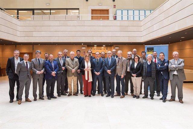 Reunión del patronato de la Corporación Tecnológica de Andalucía (CTA).