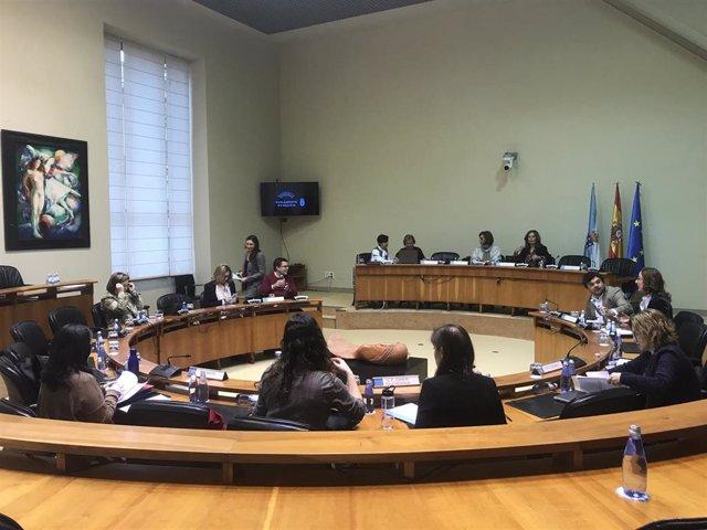 Comisión de Sanidade, Política Social e Emprego del Parlamento de Galicia