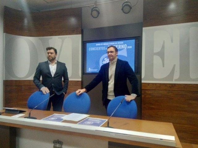 David Colado y José Luis Costillas