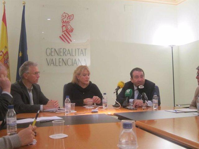 Segarra, Illueca y Llanes en rueda de prensa