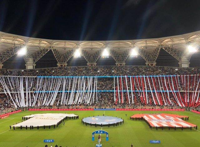 Estadio Rey Abdullah.