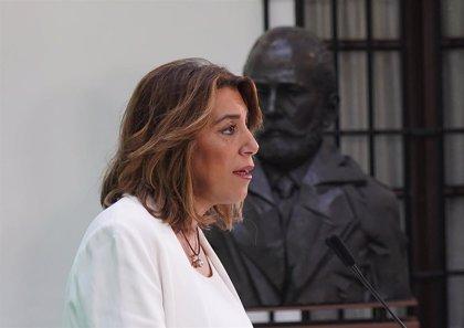 """Susana Díaz señala que Sánchez y Montero reconocen que Andalucía """"está mal financiada"""" y su compromiso a abrir el debate"""