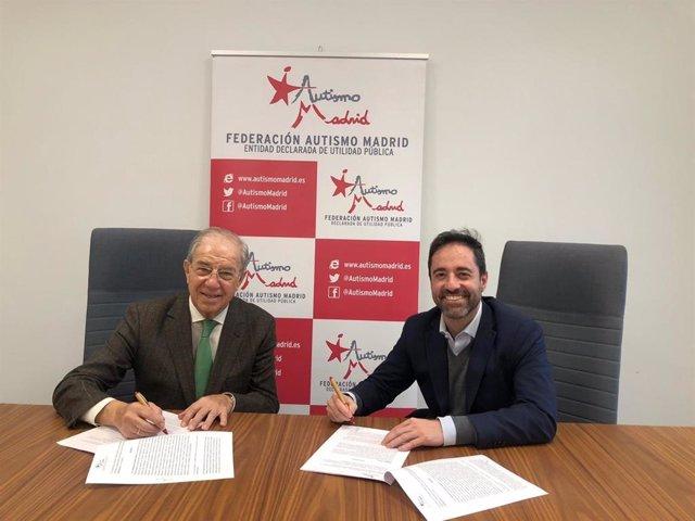 Firma convenio intu Xanadú y Federación Autismo Madrid