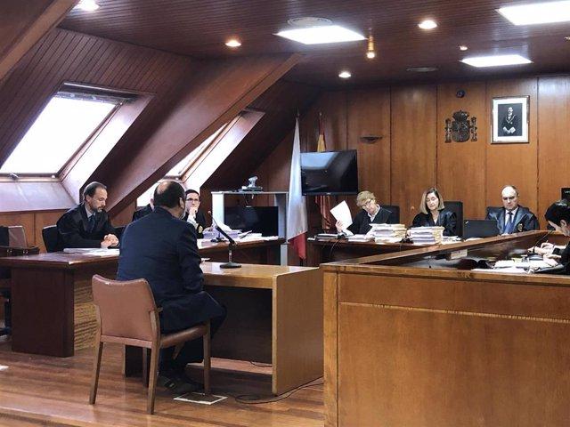 Cuarta sesión del juicio contra el expresidente del Racing Francisco Pernía