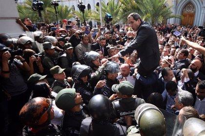 Voluntad Popular denuncia un intento de asesinato contra Guaidó por los ataques armados a diputados