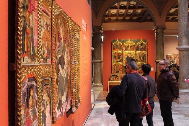 Las exposiciones organizadas por la Diputación de Zaragoza en 2019 reciben un 25 por ciento más de visitantes que las de 2018.