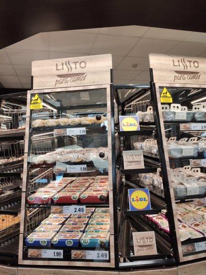 Lidl entra en la venta de platos preparados con precios competitivos