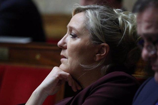 Francia.- Marine Le Pen anuncia su candidatura a las presidenciales de 2022