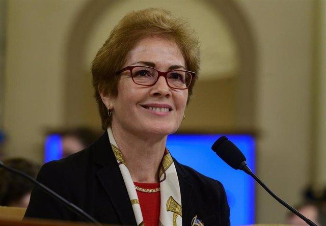 Marie Yovanovitch, en su comparecencia en la Cámara de Representantes de Estados Unidos