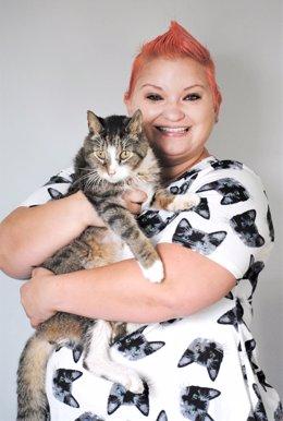 Una residencia para gatos en su propia casa, la idea de una amante de los animales para darles una segunda oportunidad