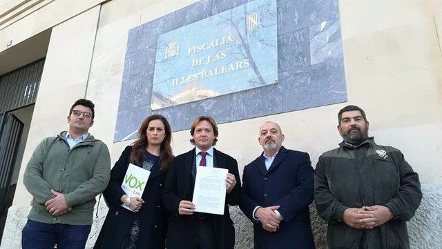 Vox registra en Fiscalía la denuncia por los niños tutelados prostituidos en Mallorca