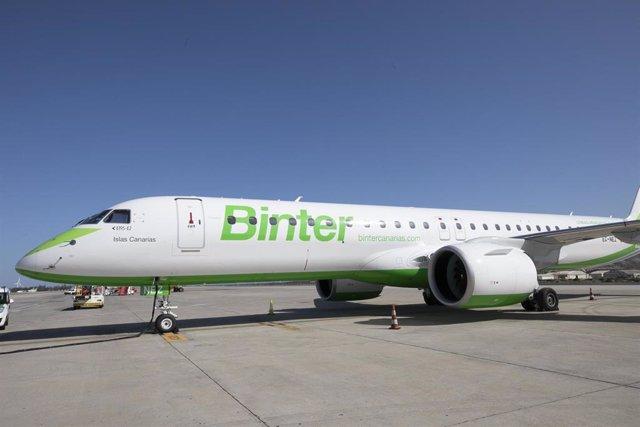 Avión de la compañía aérea Binter