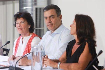 """Pedro Sánchez anuncia que recurrirá ante los tribunales la implantación del 'pin parental' en Murcia: """"Seremos firmes"""""""