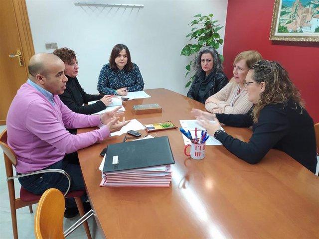Reunión de coordinación para hacer balance del dispositivo de atención a los temporeros en la ciudad de Jaén