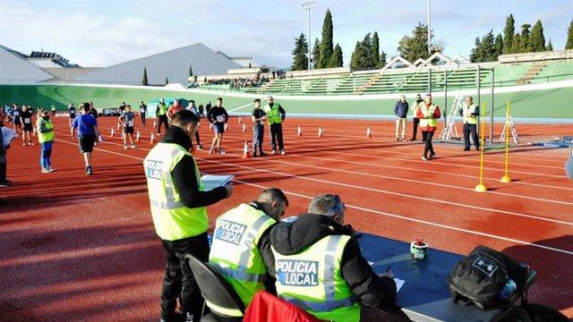Primer día de pruebas físicas para acceder al cuerpo de Policía de Palma