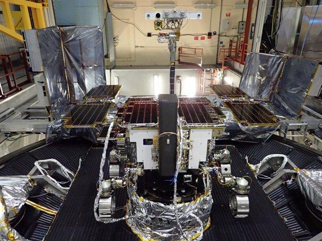 Pruebas ambientales del rover de la misión ExoMars