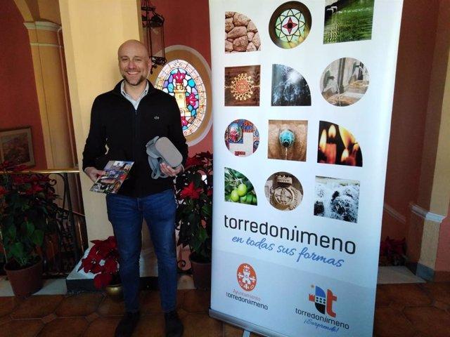 El concejal de Turismo y Desarrollo Local del Ayuntamiento de Torredonjimeno, José Juan Tudela