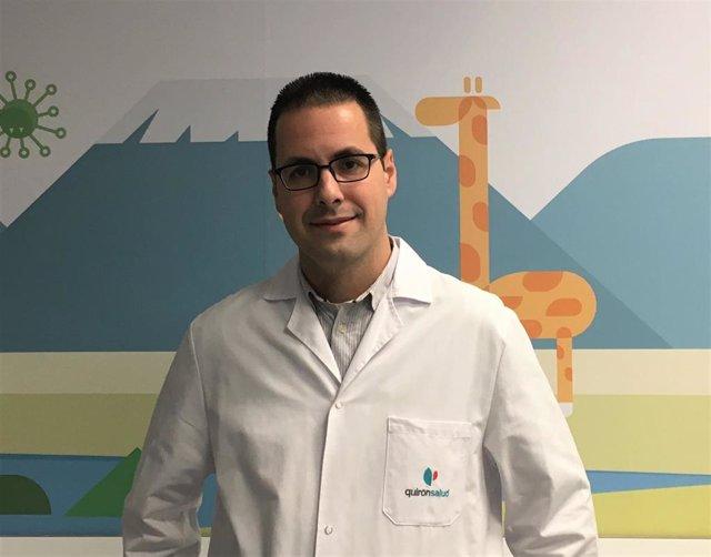 El pediatra del Hospital Quirónsalud Córdoba Daniel Ruiz
