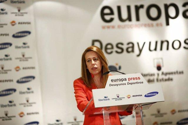Ana Muñoz Merino, en los Desayunos Deportivos de EP