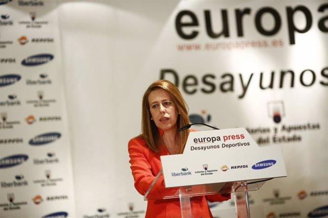 Fútbol.- Elvira Andrés sustituye a Ana Muñoz como vicepresidenta de la RFEF