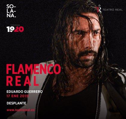 El bailaor Eduardo Guerrero y el artista Domingo Zapata fusionan flamenco y pintura en el Teatro Real