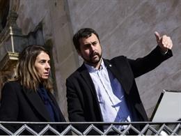 La Consellera de Presidencia y portavoz del Govern, Meritxell Budó, visita la Conca de Barberà (Tarragona).