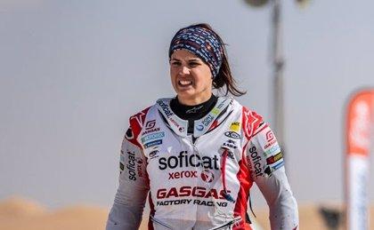 """Laia Sanz, tras un accidente: """"Me duele el pecho y el dedo pero espero terminar"""""""