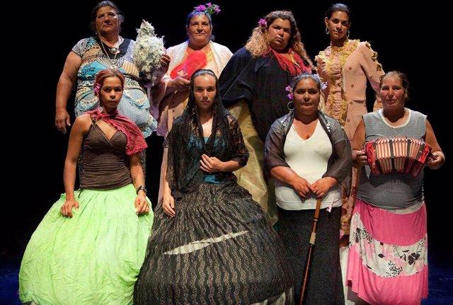 Mujeres encargadas de interpretar 'La casa de Bernarda Alba'