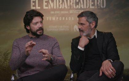 """'El embarcadero' regresa a Movistar+ con una 2ª temporada """"más oscura"""" y con """"más thriller"""""""