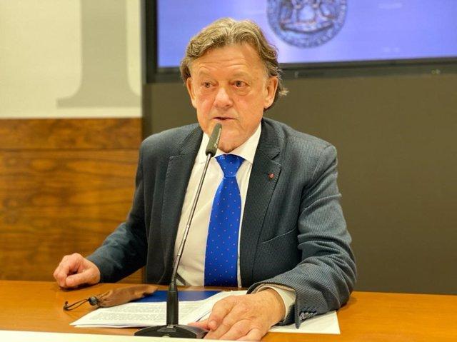 Concejal de Seguridad Ciudadana del Ayuntamiento de Oviedo, José Ramón Prado.
