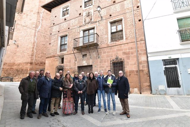 Reunión del Ejecutivo regional con alcaldes de la comarca de Arnedo