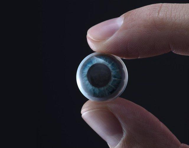 Les lentilles intel·ligents amb pantalla Mojo Lens que va anunciar la companyia nord-americana Mojo Vision.