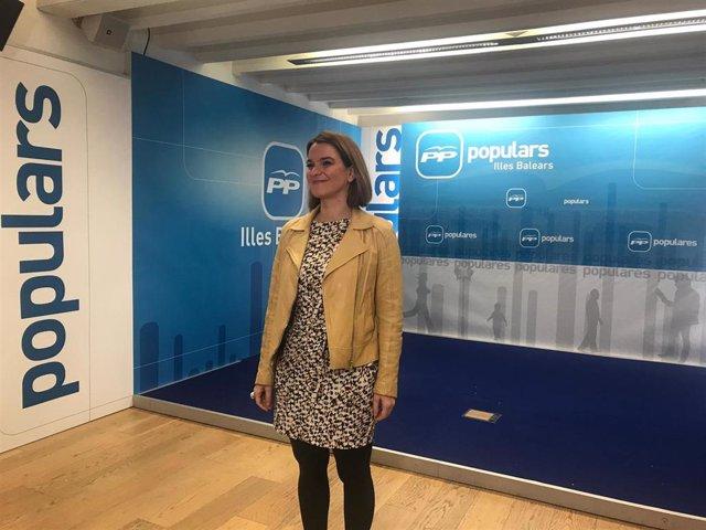 La diputada del PP al Congreso por Baleares, Margalida Prohens