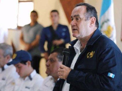 """Giammattei asegura a la cooperación internacional que Guatemala no será un """"saco roto"""""""
