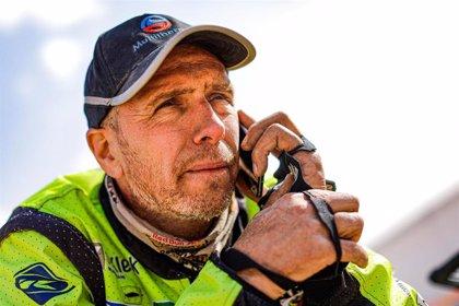 El piloto holandés del Dakar Straver, en estado crítico tras una caída