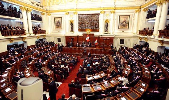 El Congreso de los Diputados de Perú.