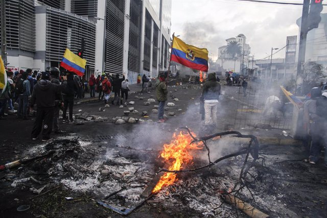 """Ecuador.- El Gobierno de Ecuador ve """"sesgo"""" en el informe de la CIDH sobre las p"""