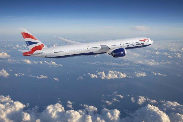 Un avión de BA (IAG)