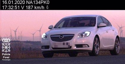 Imputado en Milagro por circular a 187 km/h en una vía limitada a 90