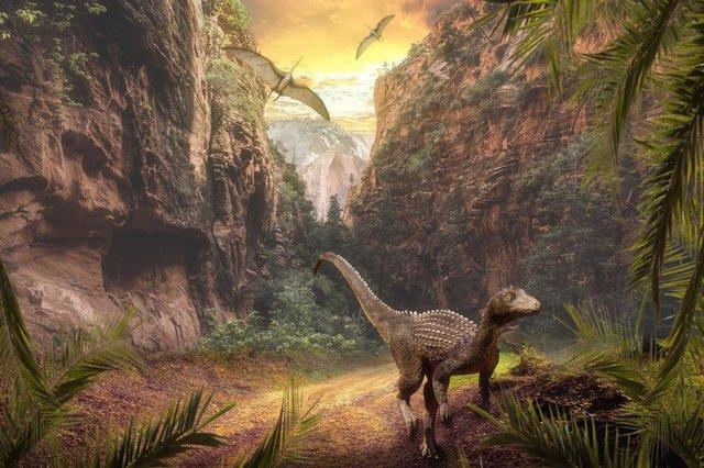 El vulcanismo no influyó en la extinción de los dinosaurios