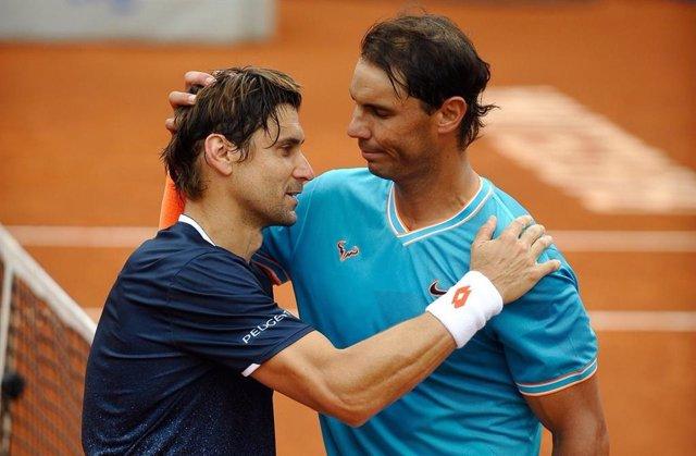 Tenis.- Rafa Nadal jugará con David Ferrer el partido inaugural de su academia e