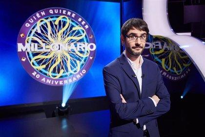 El mítico '¿Quién quiere ser millonario?' vuelve este miércoles en su 20° aniversario a Antena 3 con Juanra Bonet